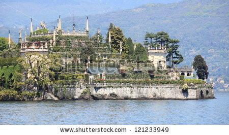 Borromeo Island Lake Maggiore Stock Photos, Images, & Pictures.