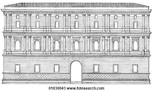 Drawing of Architecture.
