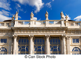 Stock Photos of Palazzo Madama Turin.