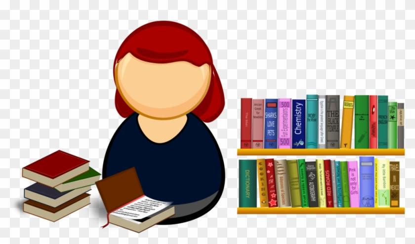 Clipart Books Shelf.