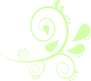 Pale Green Paisley Clip Art at Clker.com.