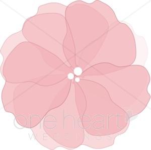 Pink Flower Clipart.