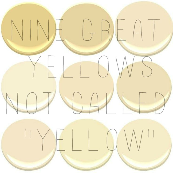 1000+ images about Creamy pale yellow paint colors on Pinterest.