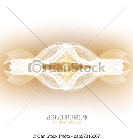 Vector Clipart of Abstract vector background. Abstract alien.