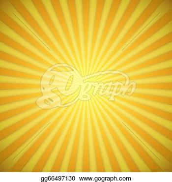 Yellow Sunburst Clipart.