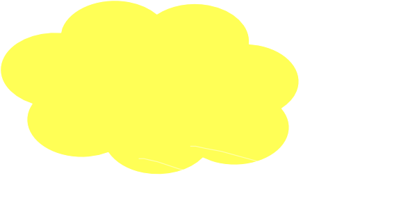 Pale Yellow Cloud Clip Art at Clker.com.