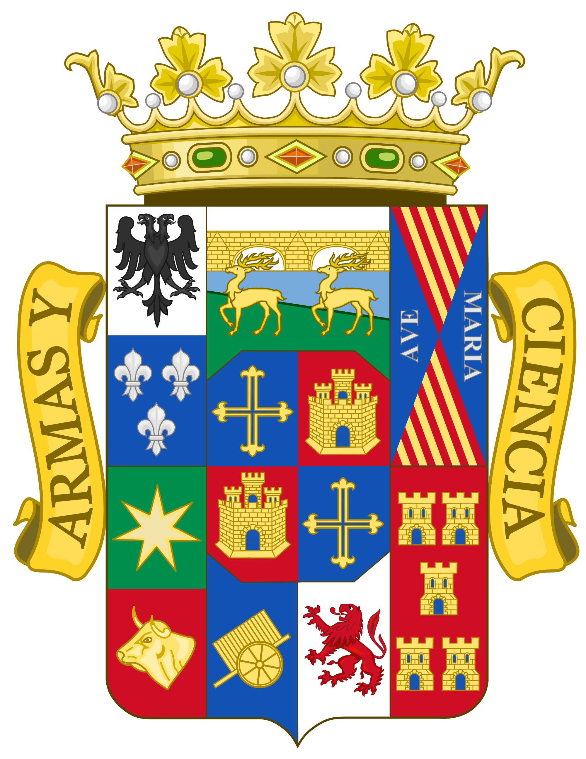 File:Coat of Arms of Palencia Province.svg.