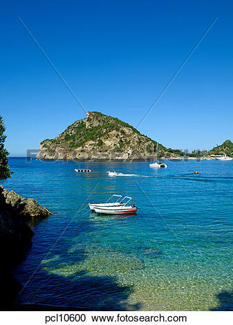 Stock Photography of Corfu Island, Paleokastritsa pcl10600.