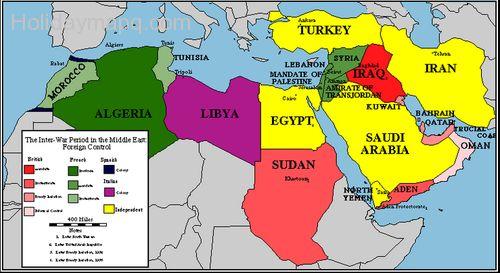 Free Map of palestine.