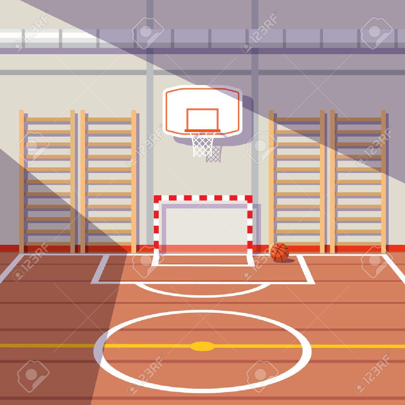 School Gym Clipart.