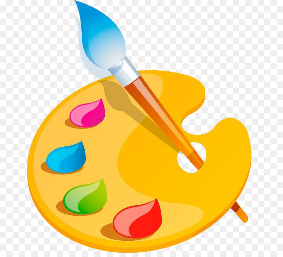 Painting Cartoon clipart.
