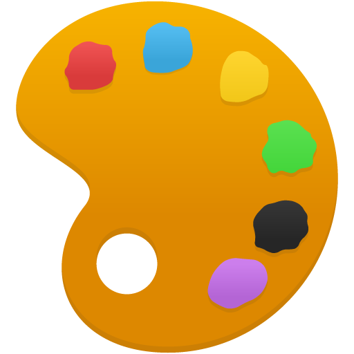 color palette png image.