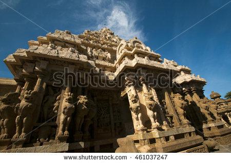 Pallava Stock Photos, Royalty.
