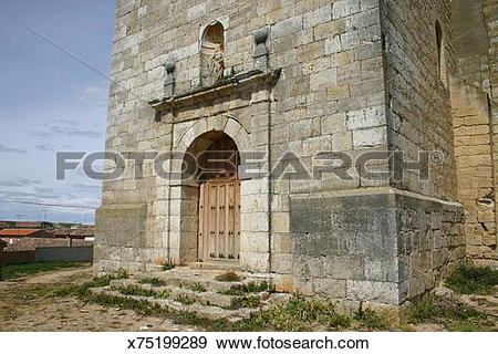 Stock Photograph of Fromista, Palencia (Castile and Leon, Spain.