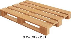 Wood Pallet Clipart.