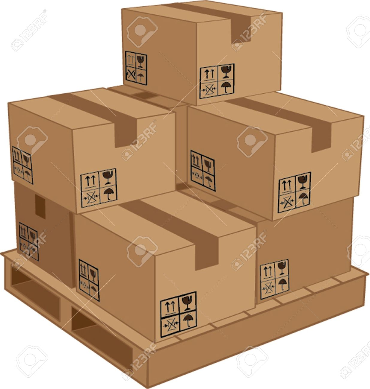 5,988 Pallet Stock Vector Illustration And Royalty Free Pallet Clipart.
