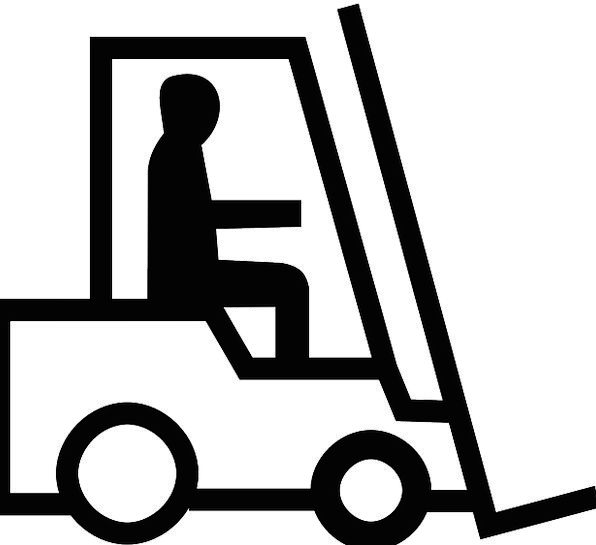 Showing post & media for Forklift symbol.