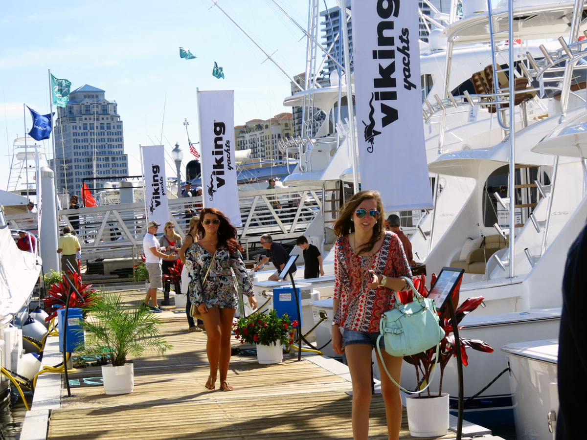 Palm Beach International Boat Show.