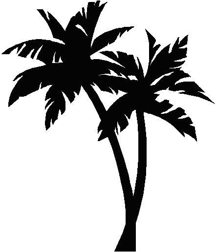Palm tree bark clipart #3