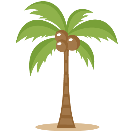 Clip Art Palm Tree Clip Art. Flowers/Trees.