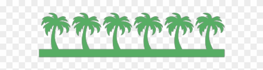 Palm Tree Border Clip Art, HD Png Download (#3890757).