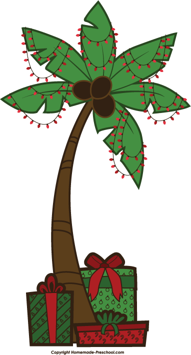 Fun and free Christmas tree clipart, ready for PERSONAL and.