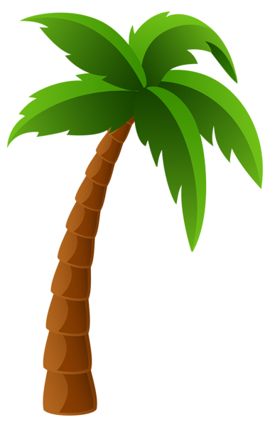 Palm trees clipart #2