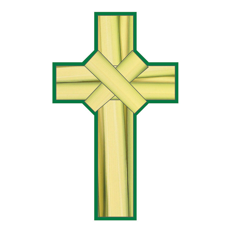 Palm crosses clipart clipart images gallery for free.