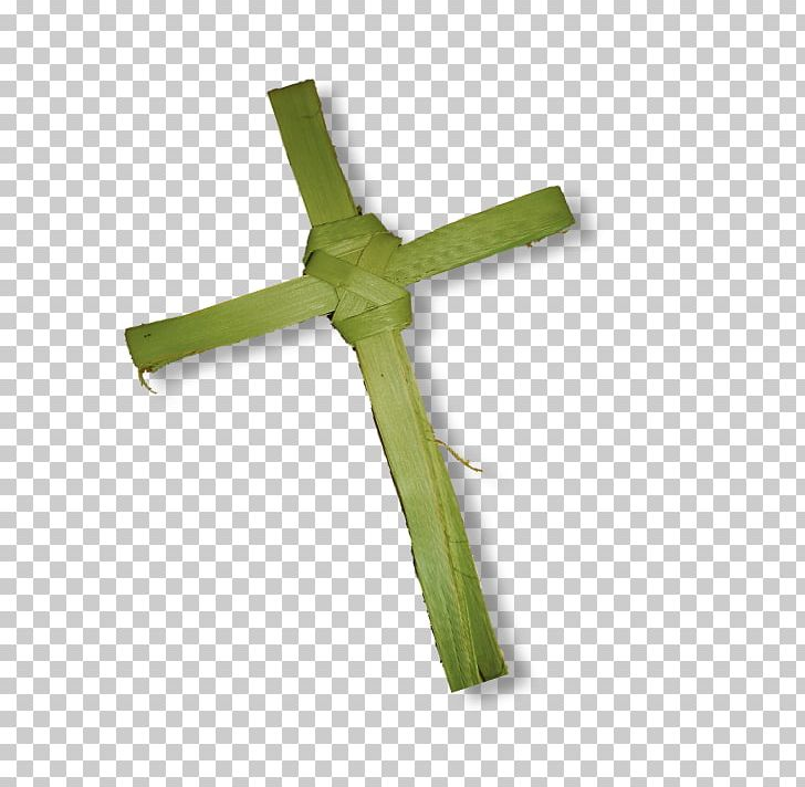 Palm Branch Christian Cross Palm Trees Photography PNG.