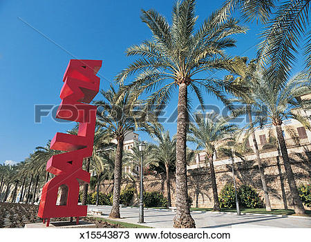 Stock Photo of Consolat del Mar, Palma de Mallorca, Mallorca.