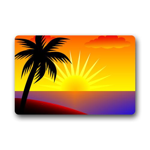 Palm door clipart #6
