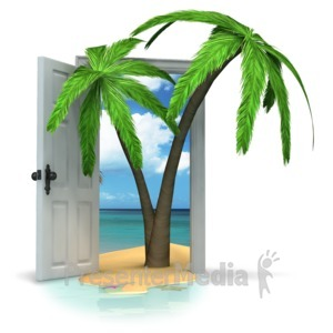 Palm door clipart #14