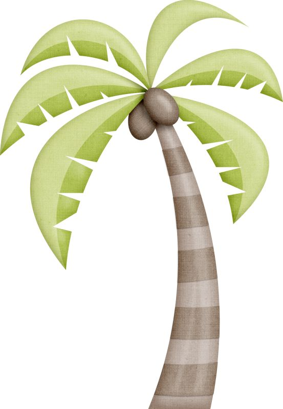 Palm flower clipart #13