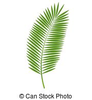 Palm fronds clipart #18