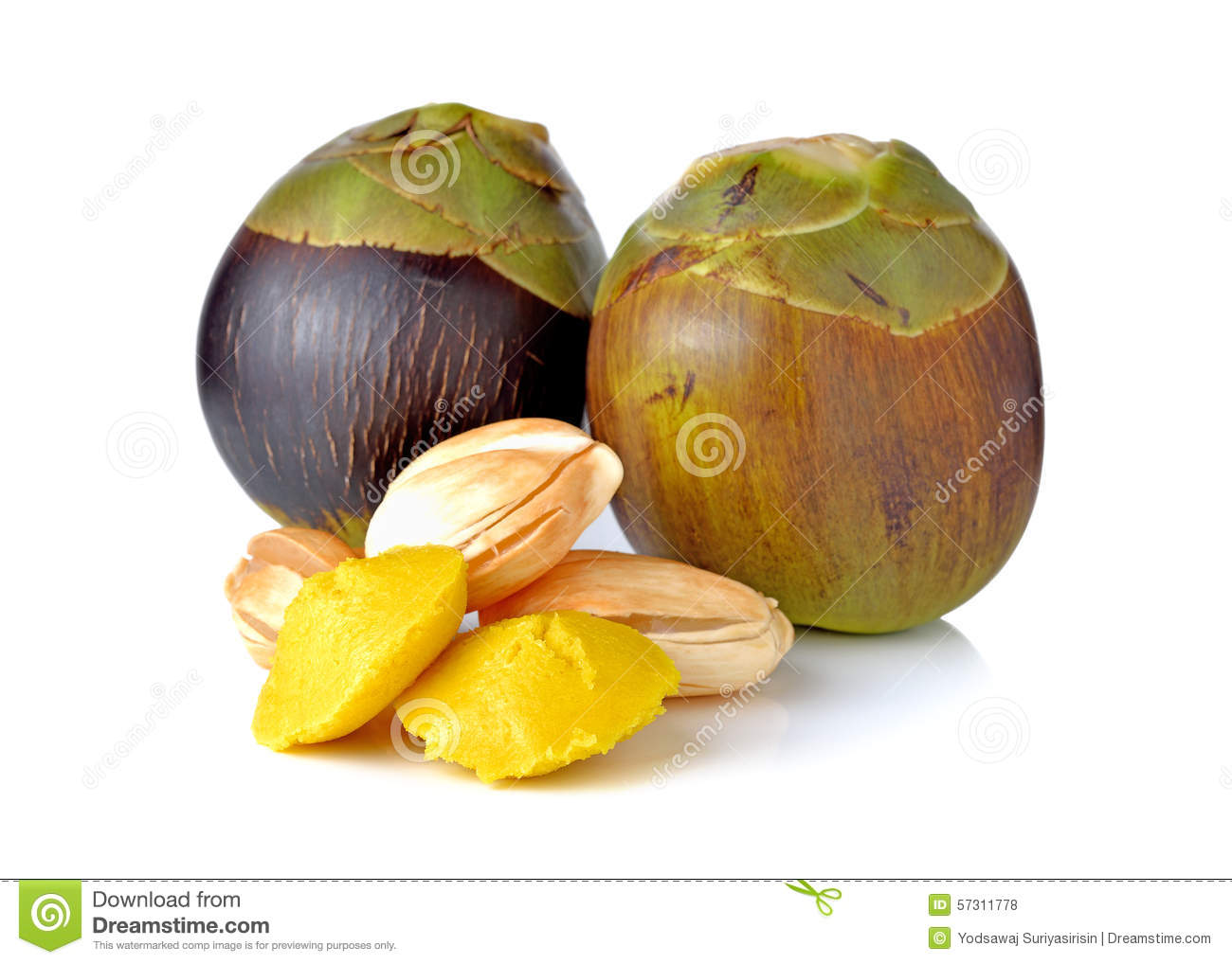 Thai Palm Fruit Stock Images.