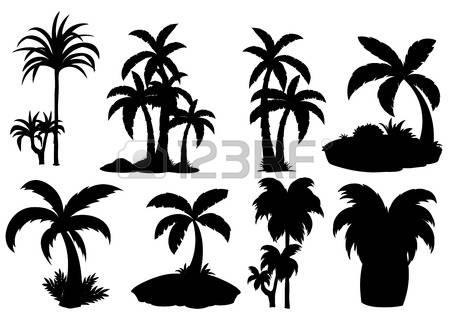Palm garden clipart #10