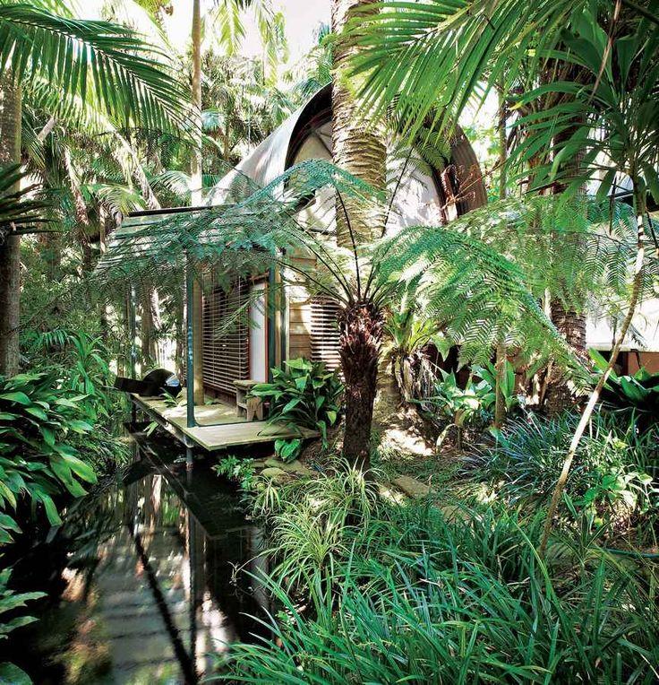 Palm garden clipart #5