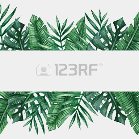 Palm garden clipart #1