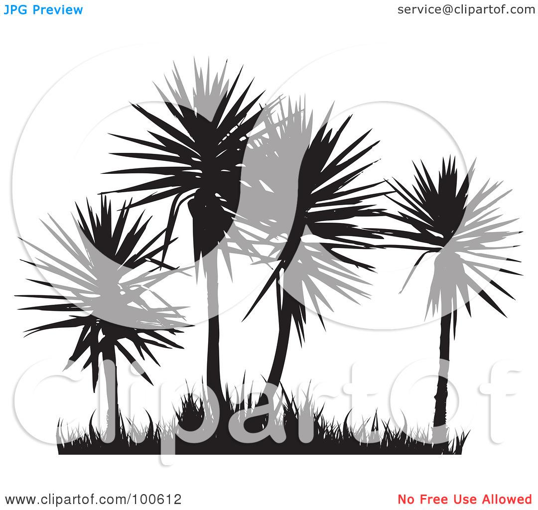 Palm grass clipart #16