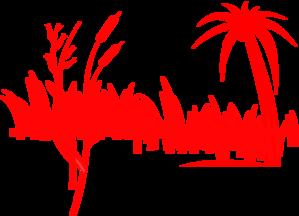 Palm grass clipart #19