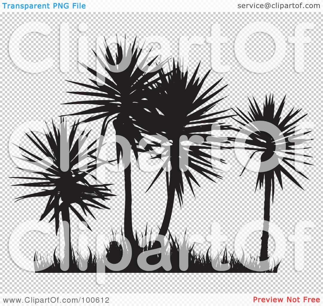 Palm grass clipart #8
