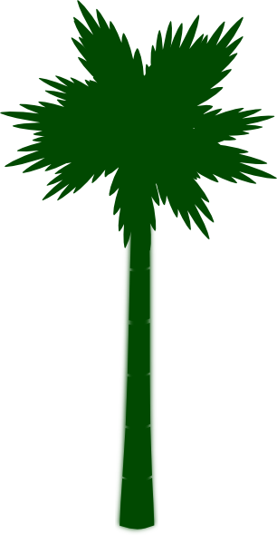 Palm green clipart #20