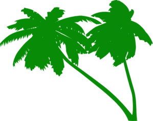 Palm green clipart #18