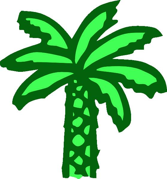 Palm green clipart #17