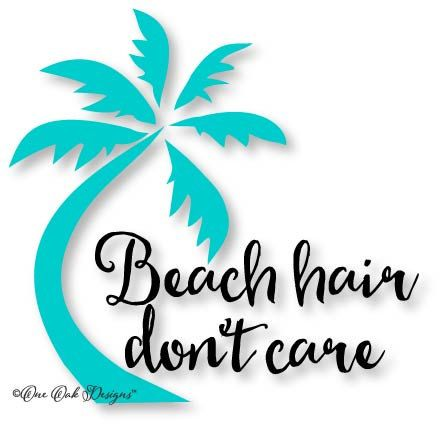 Palm hair clipart #4
