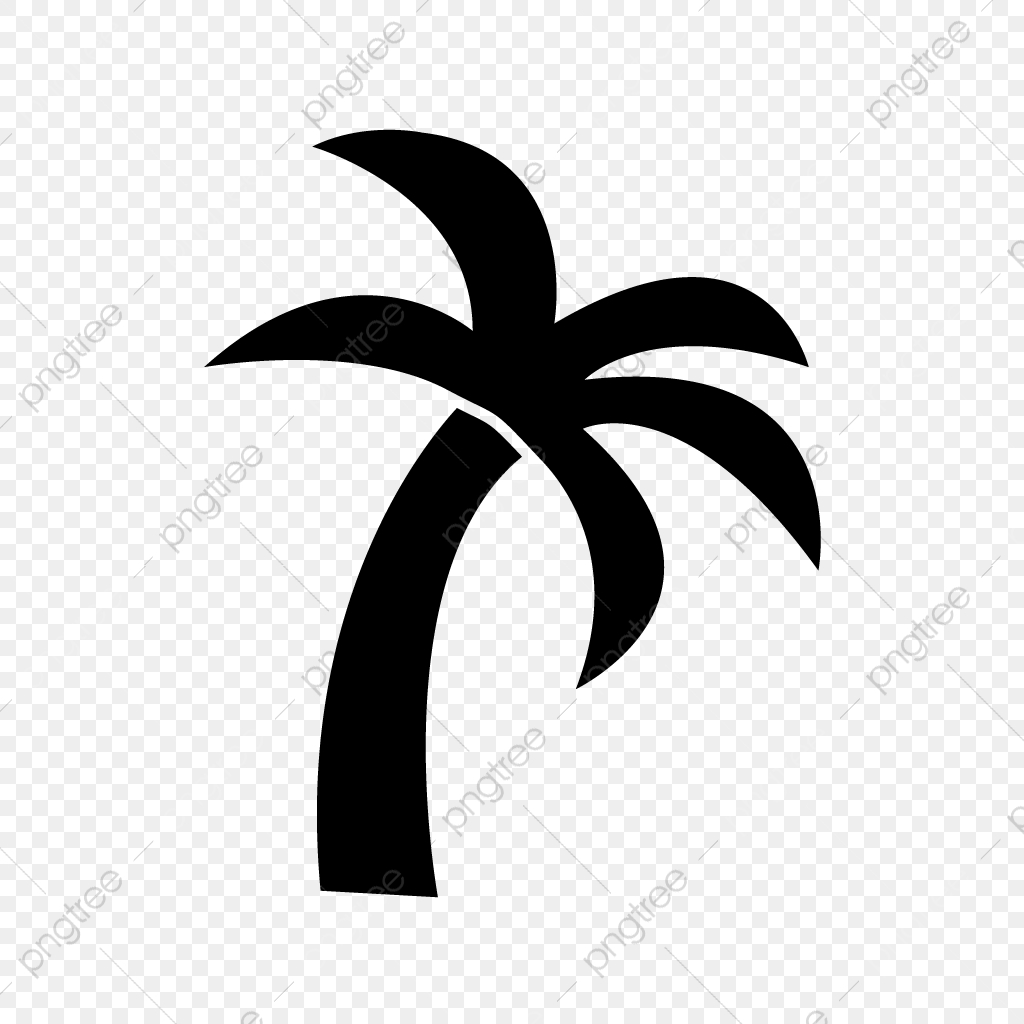 Vector Palm Tree Icon, Island, Palm, Tree PNG and Vector.