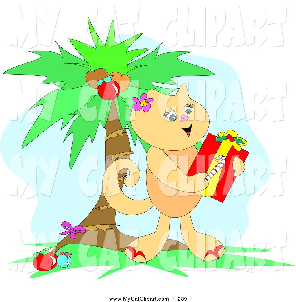 Palm kitten clipart #20