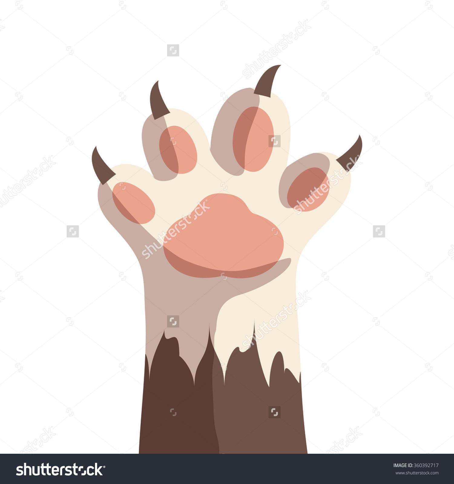 Palm kitten clipart #9