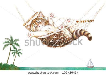 Palm kitten clipart #18