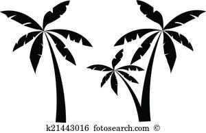 Palm leaf clipart #20